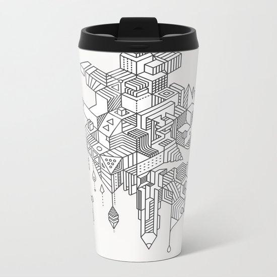 HABITATS Metal Travel Mug