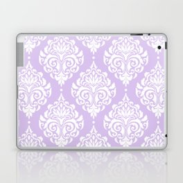 Purple Damask Laptop & iPad Skin