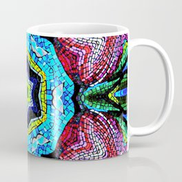 Tulip Mosaic Abstract Coffee Mug