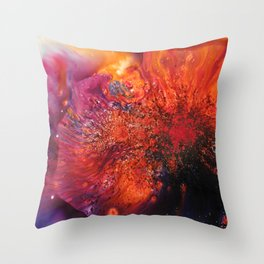 BRUSHO Throw Pillow