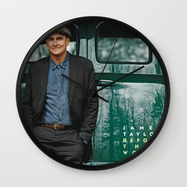 JAMES TAYLOR BEFORE THIS WORLD TOUR DATES 2019 IJAD Wall Clock