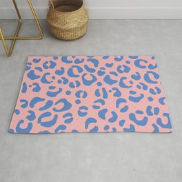 Peachy Animal Print Rug