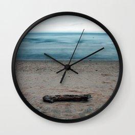 Michigan Driftwood Wall Clock