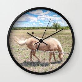 Horses Forever Wall Clock