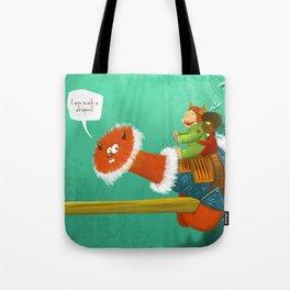 Im such a Dragon Tote Bag