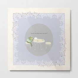 would you like some tea dear? Metal Print