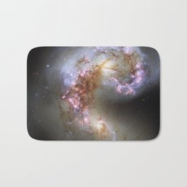 The Antennae Galaxies Bath Mat