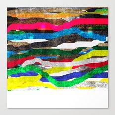 fancy stripes 2 Canvas Print