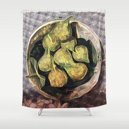 Fresh Figs. Shower Curtain