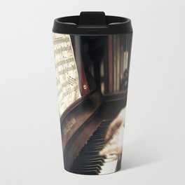 Music. The piano lesson. Travel Mug