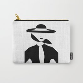 Vintage Vogue Carry-All Pouch