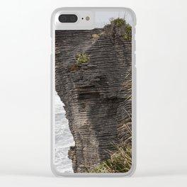 Pancake rocks New Zealand Clear iPhone Case