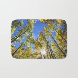 Fall Leaves in Colorado Bath Mat