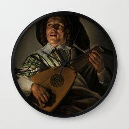 """Judith Leyster """"The Serenade"""" Wall Clock"""