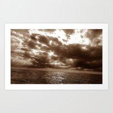 ocean beauty Art Print