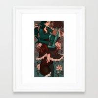 korrasami Framed Art Prints featuring Korrasami by Audra Auclair
