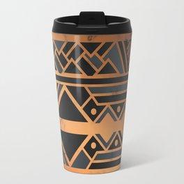 Black & Gold 028 Travel Mug
