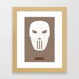 Casey Jones - Goongala Framed Art Print