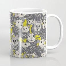 sweater mice chartreuse Mug