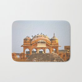 Pink City, Jaipur, India Bath Mat