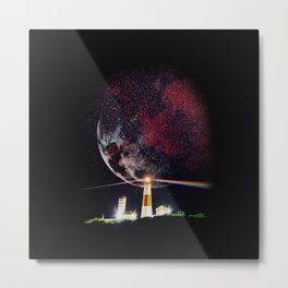 The Dark Side of Metal Print