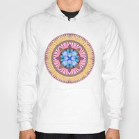 spires Hoodies featuring Castle Spires, kaleidoscope by designoMatt