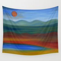 france Wall Tapestries featuring France by Louvretta