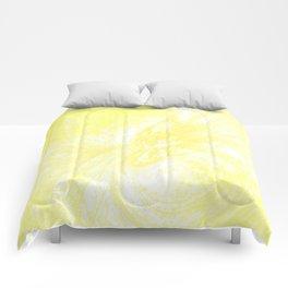 Splatter in Lemonade Comforters