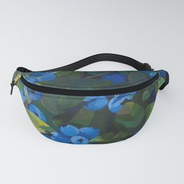 A Blueberry View Fanny Pack