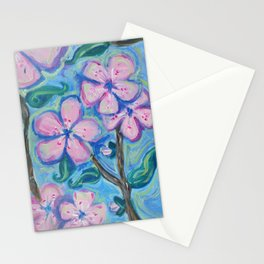 Cherry Blossom Composition #1 Stationery Cards