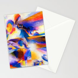 Stanton Macdonald Wright Airplane Synchromy Stationery Cards