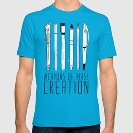 weapons of mass creation T-shirt