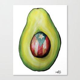 Aguacate puertorriqueño 1 Canvas Print