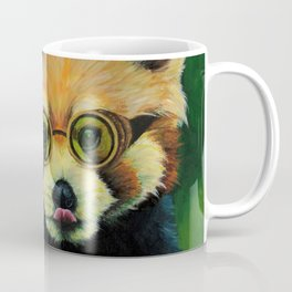 Steampunk Red Panda Coffee Mug
