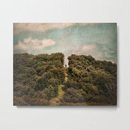 Uphill Climb Metal Print