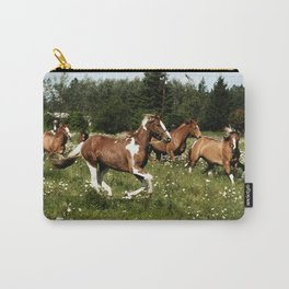 Spring Horse Run Carry-All Pouch