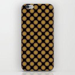 Golden Honey Mandala iPhone Skin