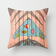 Save Water! Throw Pillow