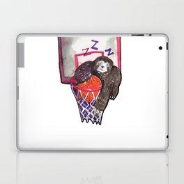 sloth playing basket Laptop & iPad Skin