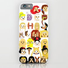 Princess Alphabet Slim Case iPhone 6s