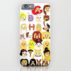 Princess Alphabet iPhone 6s Slim Case