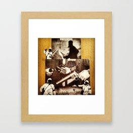 OSWG Insurrection. Framed Art Print