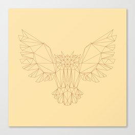 Poly-Owl Canvas Print