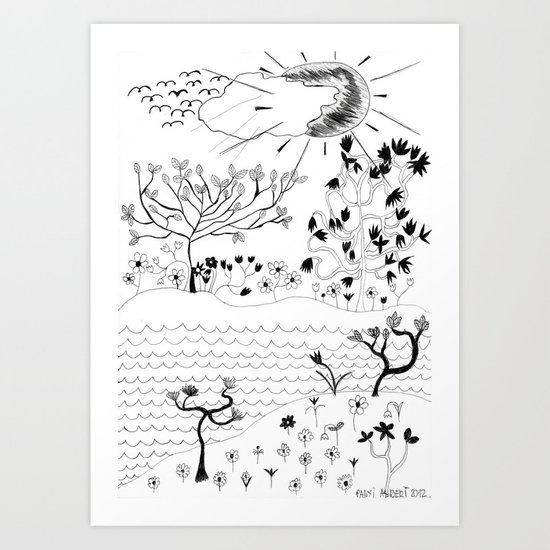 Perfect Imperfection Art Print