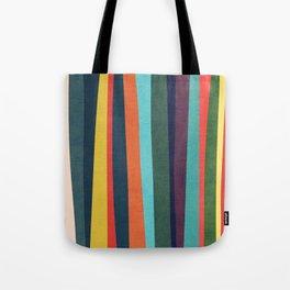 Mid-century zebra Tote Bag