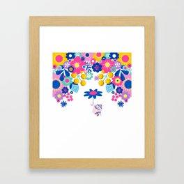 Life in Full Bloom Framed Art Print