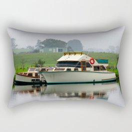 Tranquil Morning Rectangular Pillow