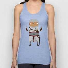 Assassin Sloth Unisex Tank Top