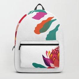 Australian Native; Waratah Backpack