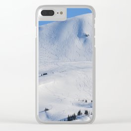 Back-Country Skiing  - III Clear iPhone Case